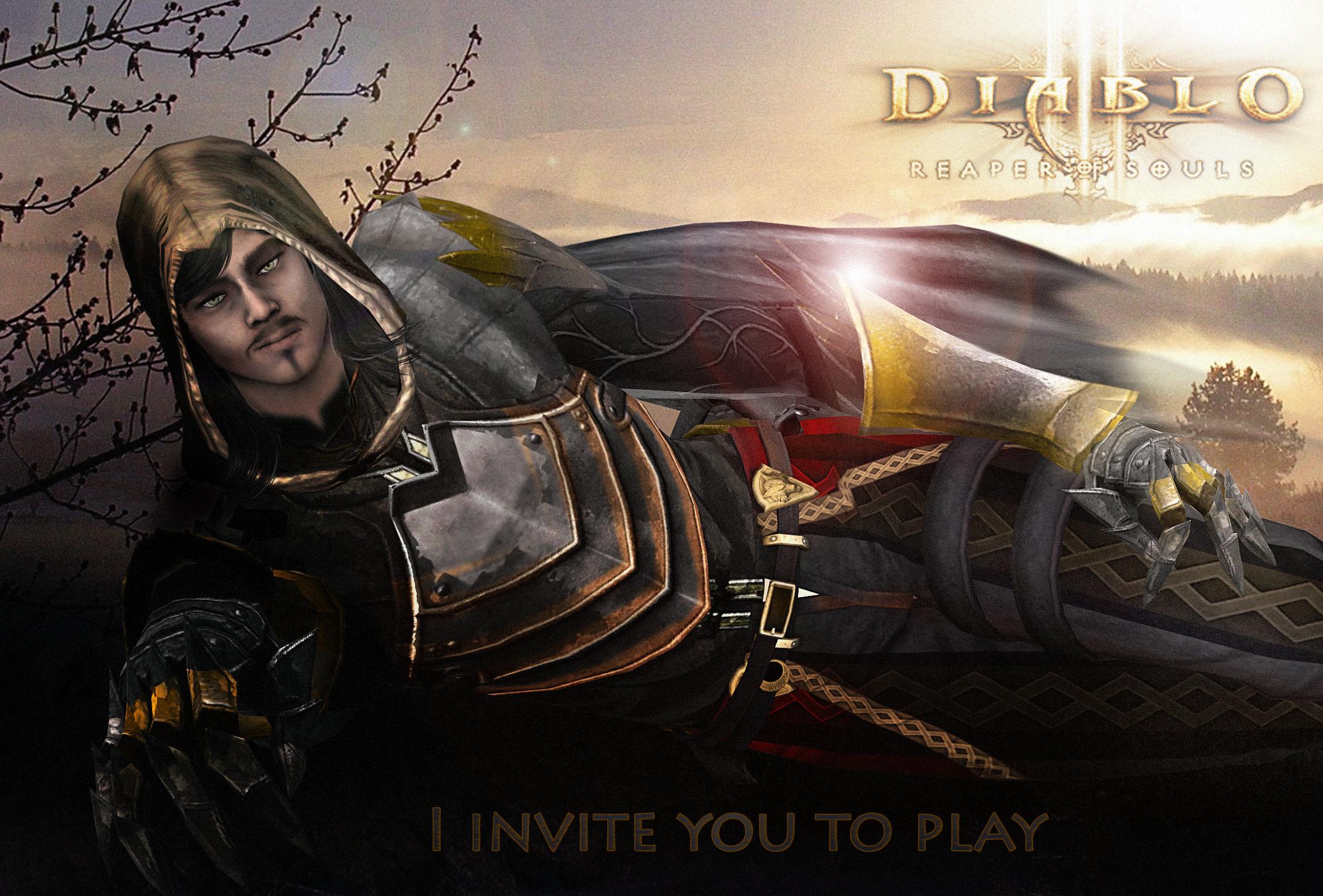 Diablo 3 Ros Wallpaper: Demon Hunter Invites You By SovietMentality