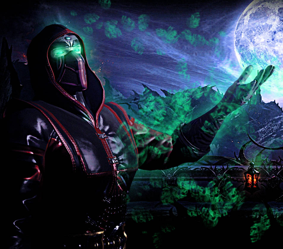 Mortal Kombat Green Ninja - Color Ninja Figh Mortal Kombat