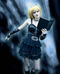 Death Note - Misa Amane - Int the Cold Light by SovietMentality