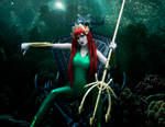 DC Comics - Queen Mera Disapproves by SovietMentality