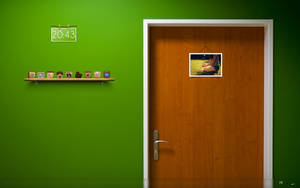 the green wall by lolymoune