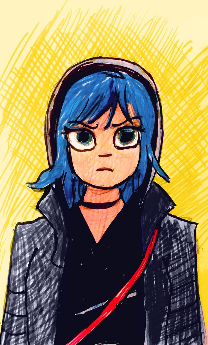 Ramona sketch by SamWallaceArtisan