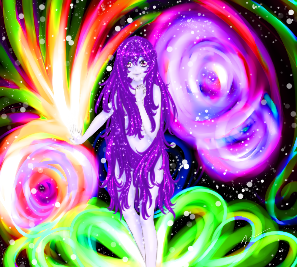 Galaxy Girl by quietexotica