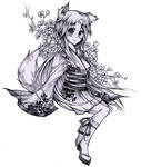 moe fox girl by Kotosy