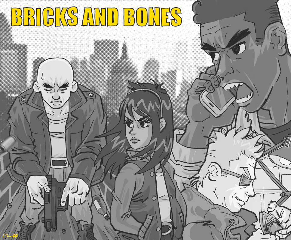 BRICKS + BONES by art-kit