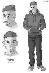 BRICKS + BONES - Dru by art-kit