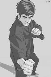 Intercepting Fist by art-kit