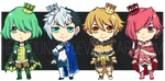 Batch Adoptables 4: Suit Princes Type (SOLD) by HEICHOUNISM
