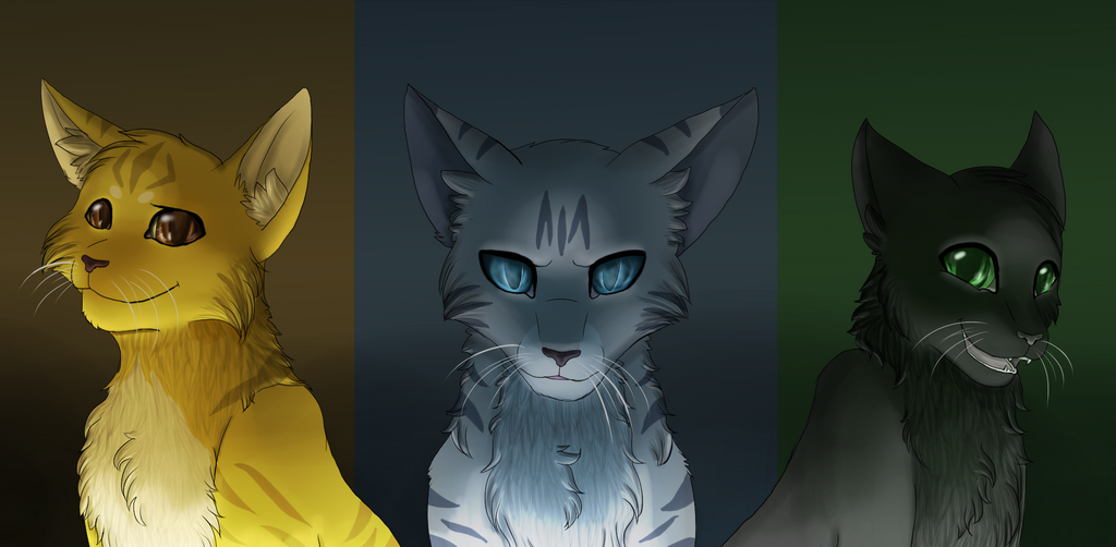 This Is Hollyleaf Lionblaze Jayfeather These Three Were Raised