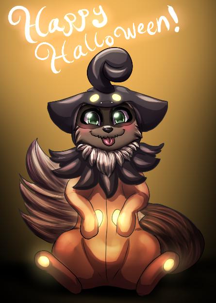 Lyrelight: Halloween Orph by MiaMaha