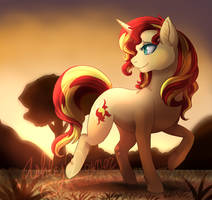 MLP - Sunset Shimmer by MiaMaha