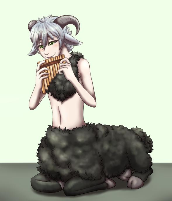 Commission - Musical Centaur by MiaMaha