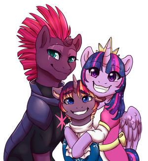 MLP - Sparkle Family Portrait