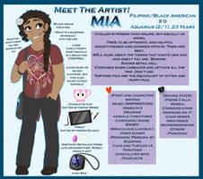 Meet The Artist (MiaMaha Edition!) by MiaMaha