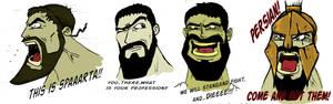 leonidas in cartoon