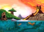 RPG background Gormiti