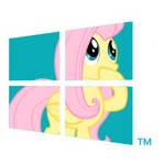 Fluttershy-Windows-8-Logo