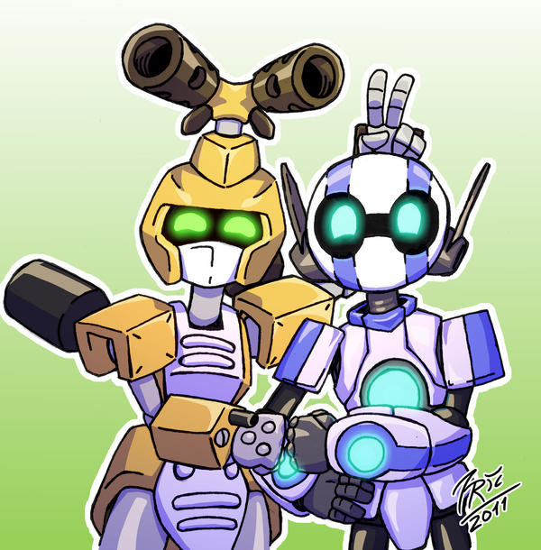 Mark and Metabee by FontesMakua