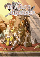 Blades of Legend cover and logo by FontesMakua