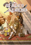 Blades of Legend cover and logo