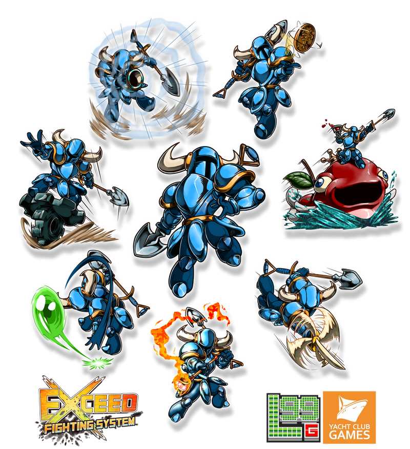 Exceed - Shovel Knight Part 2 by FontesMakua