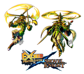 Exceed Season 4 - Propeller Knight