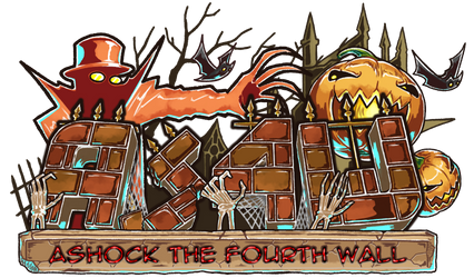 Ashock the Fourth Wall logo