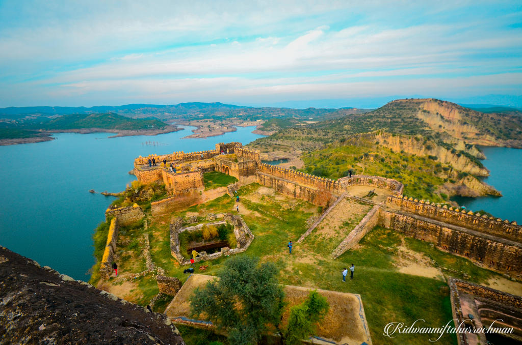 RAMKOT FORT from above by meefro683