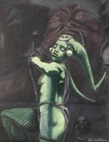Oola Dances Under the Gaze of Her Master by Cadian-9