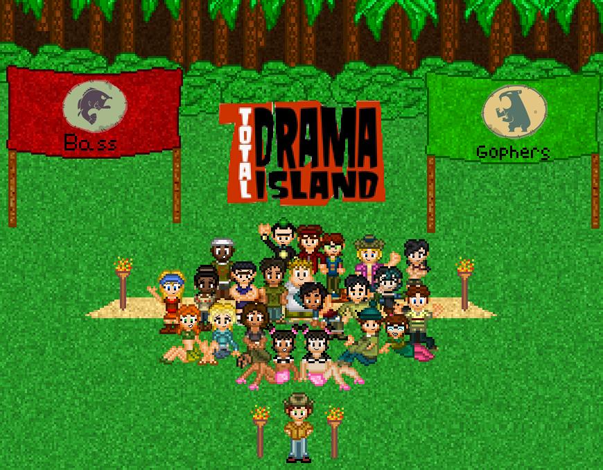 Ug Total Drama Island Roblox Total Drama Island By Shadow0knight On Deviantart