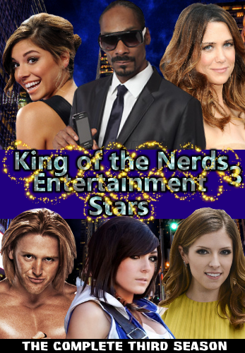 King of the Nerds 3 Entertainment Stars DVD Cover by shadow0knight