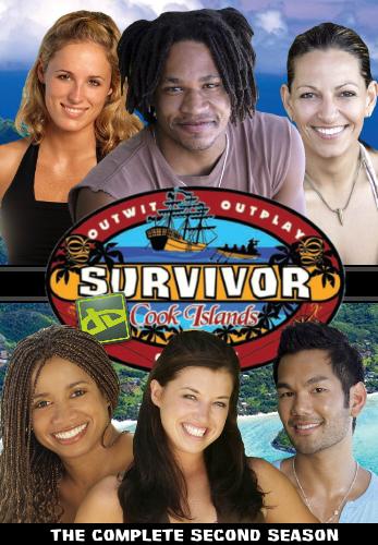 Survivor Da Cook Islands DVD Cover by shadow0knight