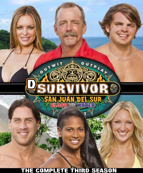 dSurvivor San Juan Del Sur DVD Cover by shadow0knight