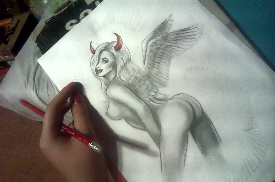 Devil Angel Bitch by Alienixung