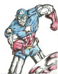 captain america by lijohn321