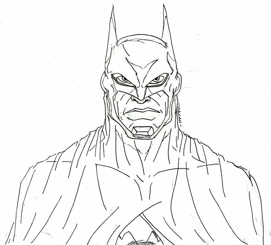 Batman No Color By Lijohn321 On DeviantArt