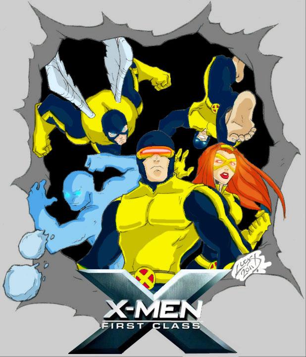x-men colored