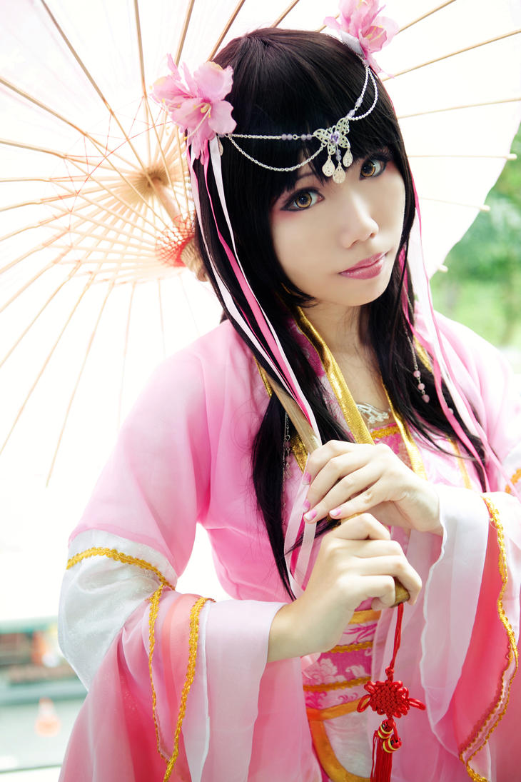 Sakura Iro - Gu Zhuang cos by Raraxz