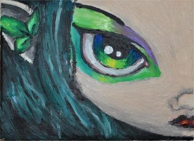 Green eye... by brisingr880