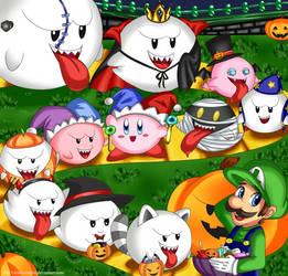 Halloween Boonanza! by Misswaterfox