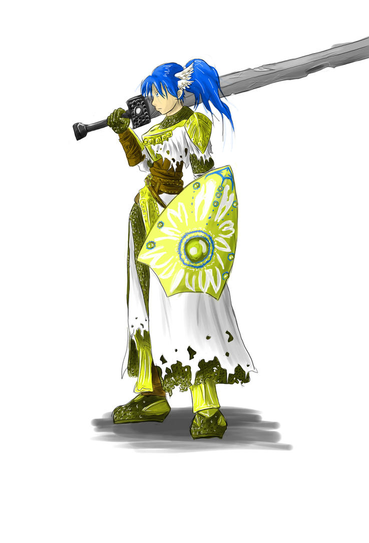 Cute Pics and other adorable things.  - Page 2 Dark_souls___aria__warrior_of_sunlight_by_digital_ashes-d5bwe75