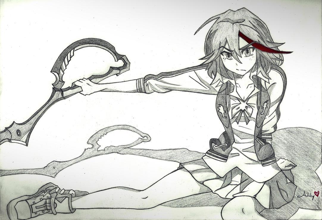 Ryuko Matoi - Kill la Kill by AddyOosaki