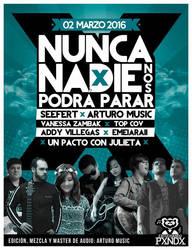 NUNCA NADIE NOS PODRA PARAR - COVER (PXNDX)