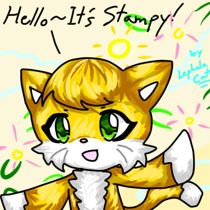 Hello its stampy by charactor on deviantart hello its stampy by charactor altavistaventures Images