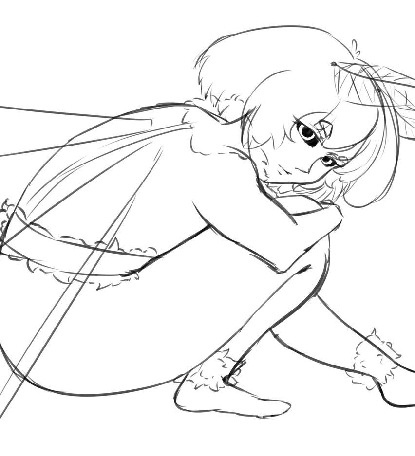 Just a quick anatomy sketch by Mirrorosary on DeviantArt