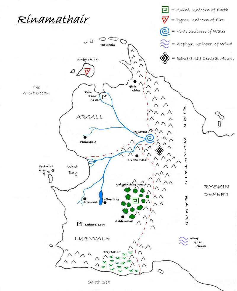 Map of Rinamathair