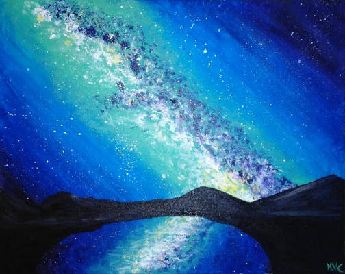 Paint a Galaxy