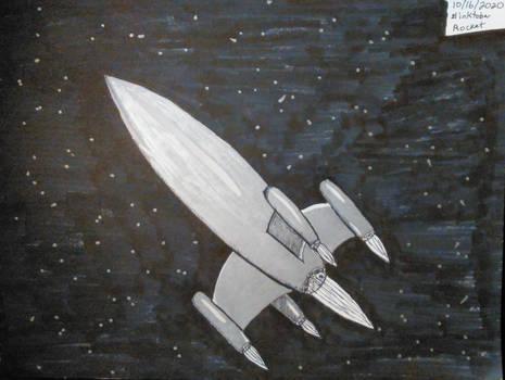 Inktober 2020, Day 16: Rocket