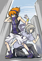 the world ends with you by SERENOA