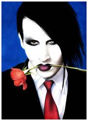 Marilyn Manson by AliceParkes